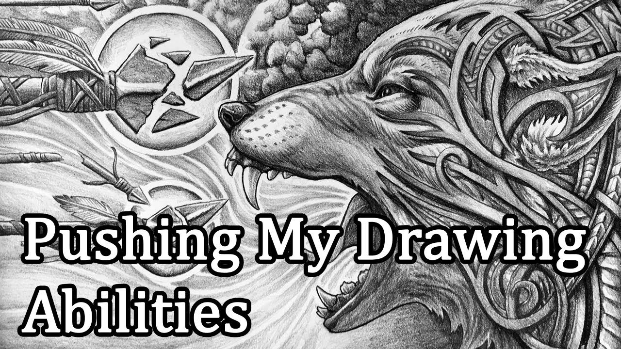 ac0859e5a Fenrir and Owl Speed Drawing Video - YouTube