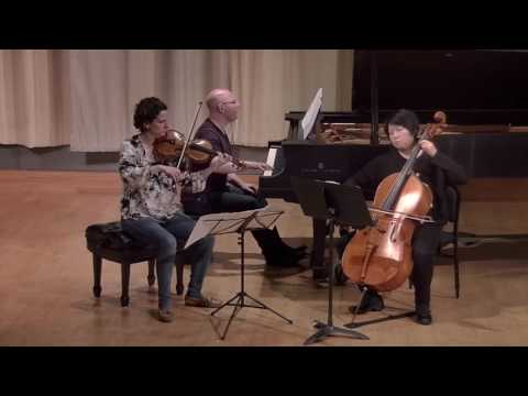 Delphi Trio plays William Bolcom Piano Trio (2014)