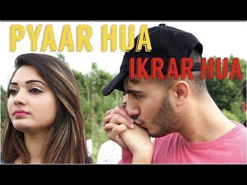 PYAAR hua ikraar hua | Shahveer Jafry