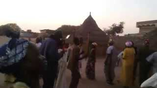 Shilluk Women dancers in Wedakona, Manyo County, celebrating, Thanks giving ceremony for Deng Gai Ga
