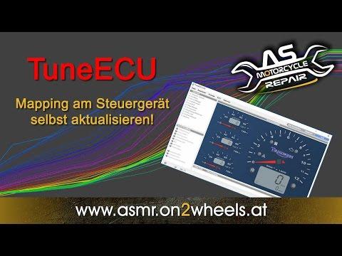 TuneECU Mapping am Motorrad selbst aktualisieren - Videoanleitung Deutsch