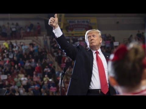President Trump reads 'The Snake'