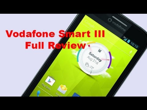 Vodafone Smart III Full Review