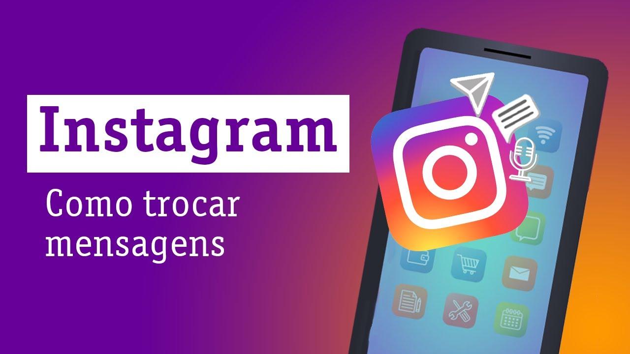 Instagram: Como trocar mensagens — Descomplicando a Tecnologia Online