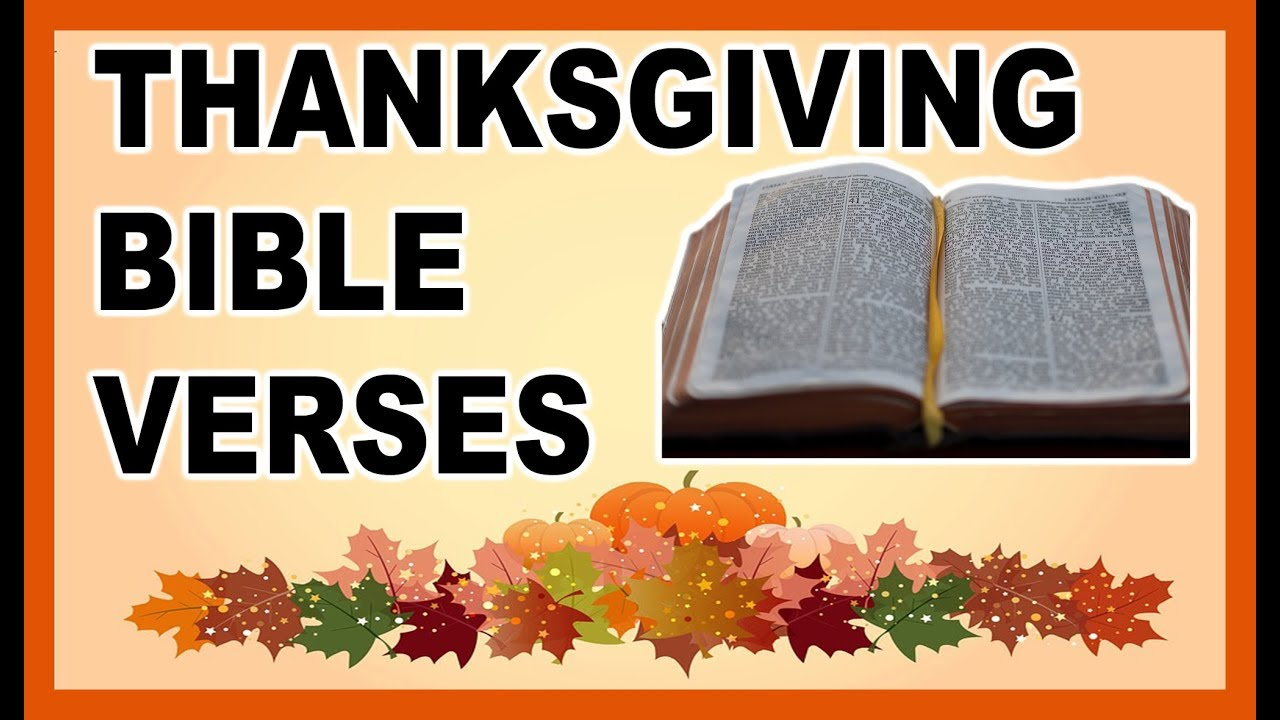 8 thanksgiving bible verses that will make your heart happy youtube 8 thanksgiving bible verses that will make your heart happy freerunsca Image collections