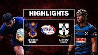 Match Highlights - Kingswood College v S. Thomas' College | Schools Rugby 2018 #9