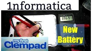 Clempad Battery Replacement - Cambio Tu Bateria!