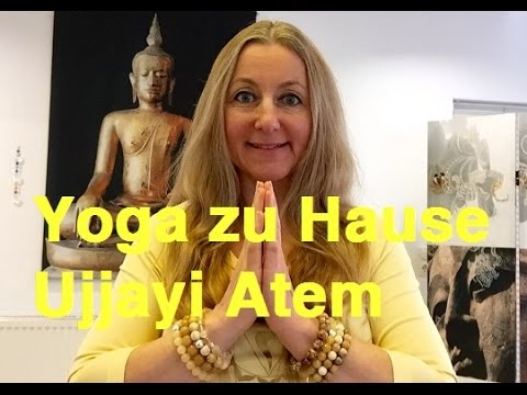 yoga zu hause teil 1 ujjayi atem youtube. Black Bedroom Furniture Sets. Home Design Ideas