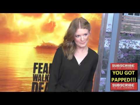 Meegan Warner at the Fear The Walking Dead Season 2 Premiere at Cinemark Playa Vista in Los Angeles