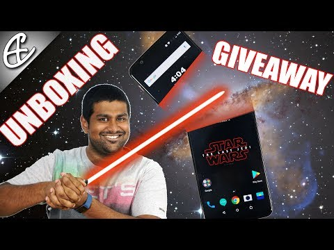 OnePlus 5T Star Wars Limited Edition Unboxing & GIVEAWAY!