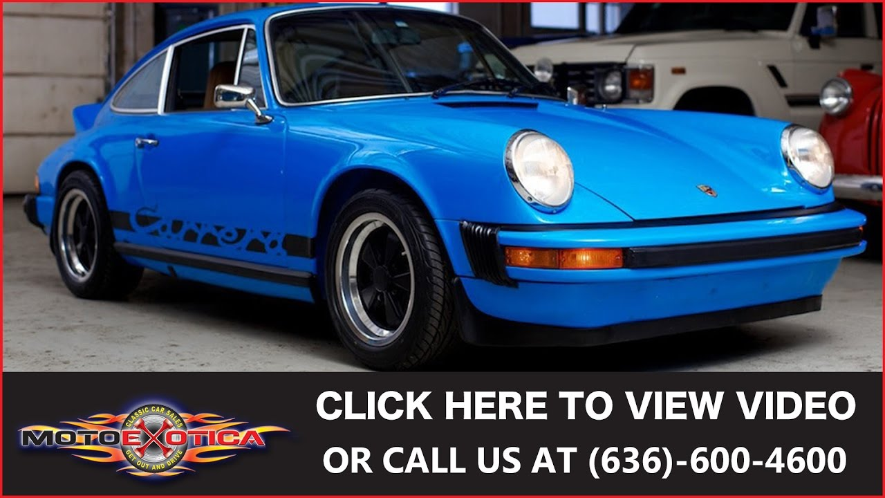 1974 Porsche 911 Carrera Rs Replica Sold Youtube Wiring Harness 1973