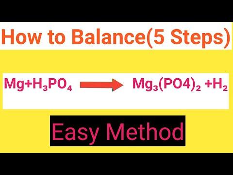 Mg+H3PO4=Mg3(PO4)2 +H2 Balanced Equation||Magnesium+Phosphoric Acid=Magnesium Phosphate+Hydrogen Ba