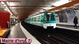 Mairie d'Ivry | Ligne 7 : Métro de Paris ( RATP MF77 )