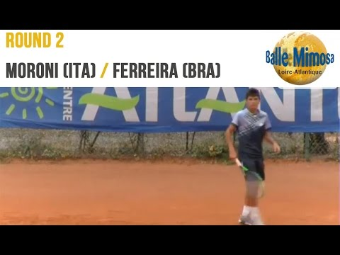 MORONI (ITA) vs FERREIRA (BRA) 2nd Round - Center court