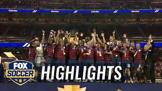 Video Watch the USMNT's Gold Cup trophy celebration | 2017 CONCACAF Gold Cup Highlights download MP3, 3GP, MP4, WEBM, AVI, FLV Agustus 2017
