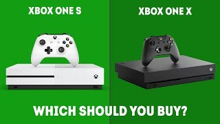 Xbox One S vs Xbox One X - Which One Should You Choose in 2019