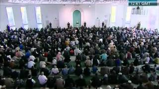 Urdu Friday Sermon 21 October 2011, Blessed and Successful European Tour_clip10.flv