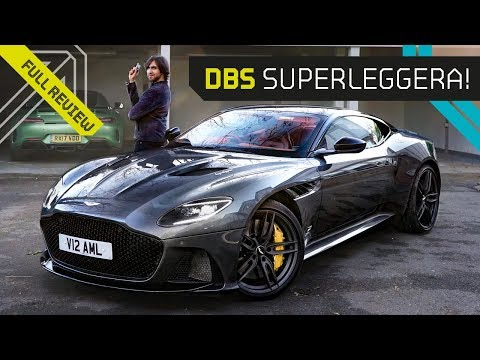 Mr AMG on the DBS Superleggera! The Ultimate Aston Martin!