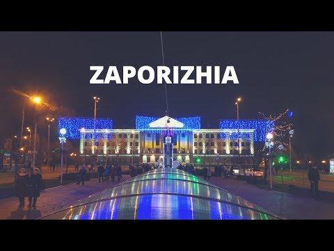 The city of Zaporizhia, Trip in Ukraine | Travel Video