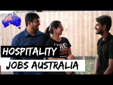 Hospitality Jobs In Australia | STUDY IN AUSTRALIA