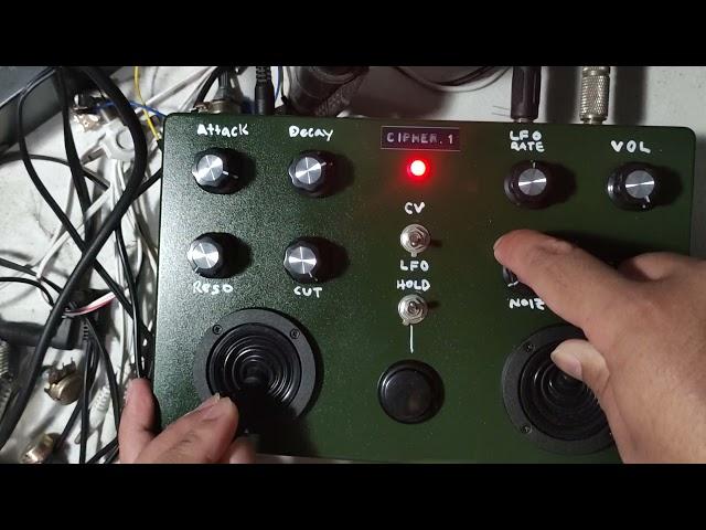 Cipher-1 [filter feedback effects noise drone generator]