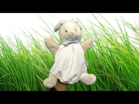 Les Amis Rabbit Puppet From Kaloo