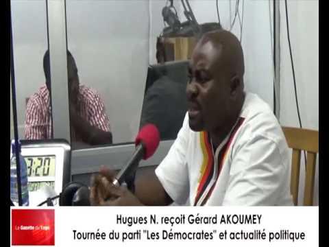 Hugues Vignon ATTIKPO reçoit Gérard AKOUMEY