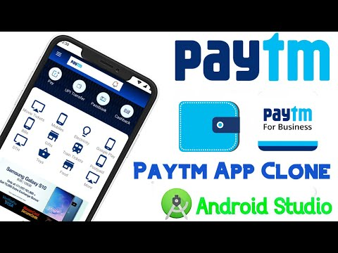 Paytm App Project In Android Studio With Java   Android Shopping App Tutorial   Paytm UI Clone