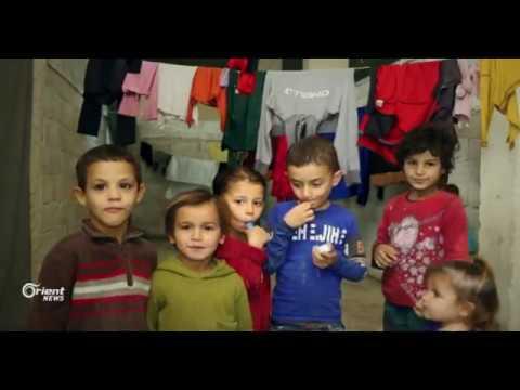 أورينت نيوز ترصد أوضاع النازحين من دير الزور في ريف حلب  - 13:21-2017 / 12 / 14