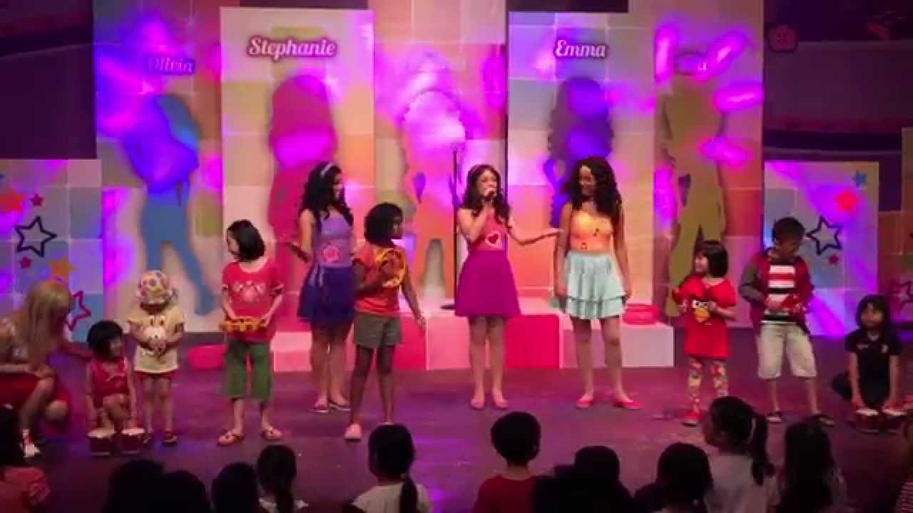 Lego Friends Live Performance Hd 2015 Youtube