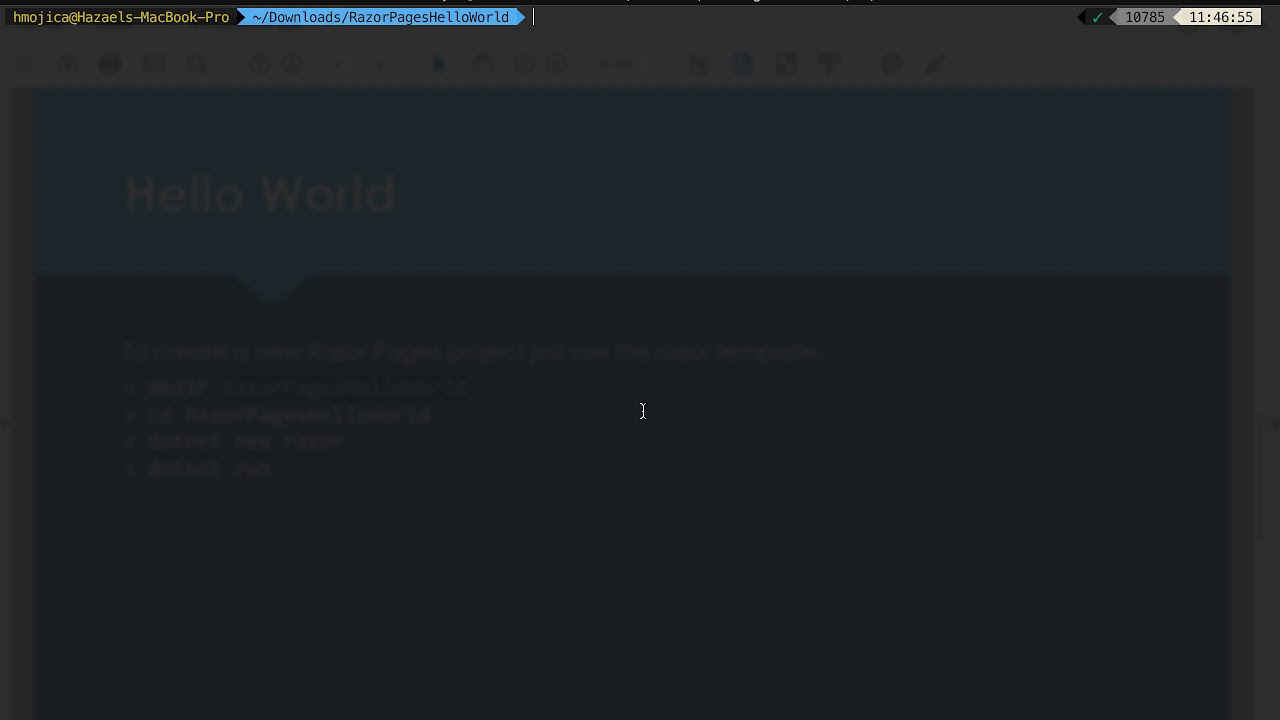 Download Progra Web - 6 IntroRazorPages 3 HelloWorld