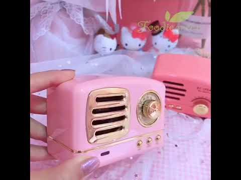 Foodiegreen™   Vintage Bluetooth Speaker