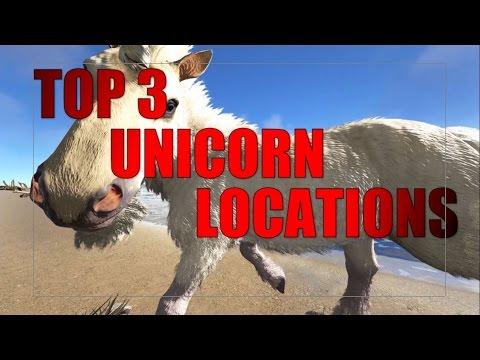 ARK - TOP 3 UNICORN LOCATIONS