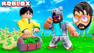 RICHEST PLAYER IN ROBLOX MADE ME A BET!!