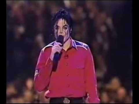 Michael Jackson - Gone Too Soon (Clinton Inaugural Gala -  Jan 93)