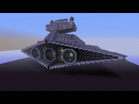 Minecraft Xbox - Star Destroyer - Star Wars World Tour - Part 1
