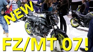 Updated 2018 Yamaha MT-07 First Look