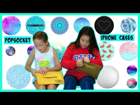 """POPSOCKET & IPHONE CASES OPENING PACKETS """"UNBOXING"""" SISTER FOREVER"""
