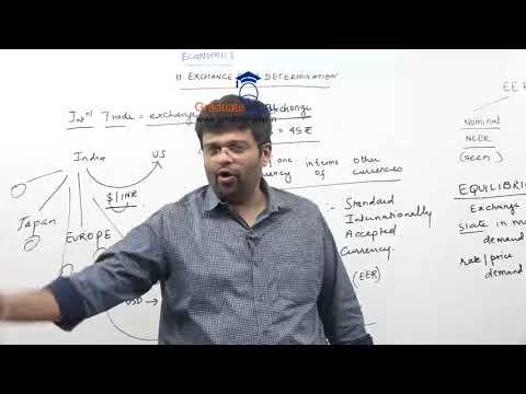 TYBCOM - Economics - Exchange Rate Determination