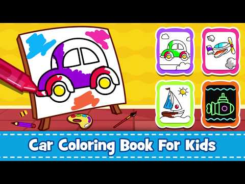 Cars Coloring - Doodle, Paint & Draw: Android App