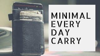 Minimal everyday carry. #minimalmonday