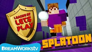 Play Splatoon in Minecraft with Fin & Sky | LEAGUE OF LET'S PLAY