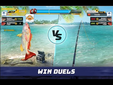 Fishing Clash: Fish Catching Games - Android GamePlay FHD