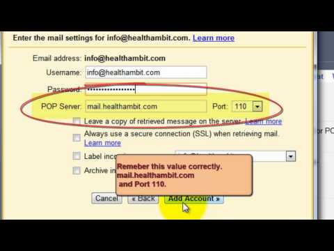 Gmail SMTP - Gmail SMTP Server Settings