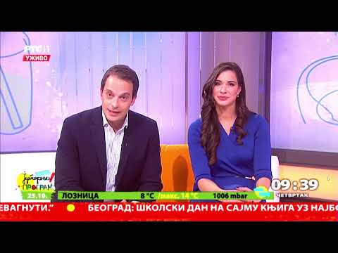 SportAnalytik Srbija jutarnji program na RTS u