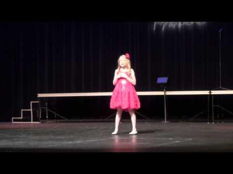 10 yr old Sophia singing