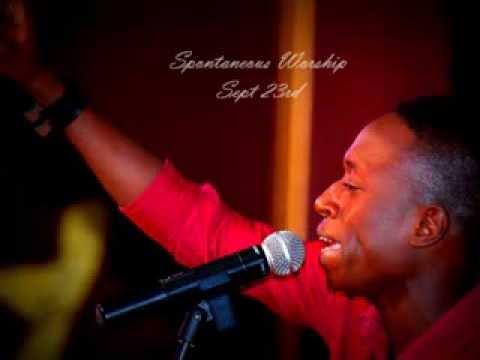Psalmist Samuel Medas flowing in Prophetic Worship [Guyana Ablaze 2013]