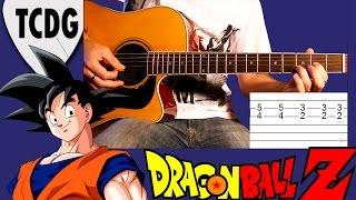 Como Tocar Dragon Ball Z - Chala Head Chala: Tablatura Para Guitarra Acústica - Punteo TCDG