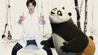 luhan鹿晗 deep 海底 music video kung fu panda3 official promotion song