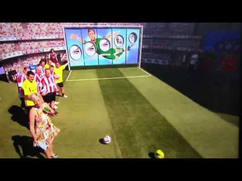 Soccer AM Ian Walker Champions League hole goal